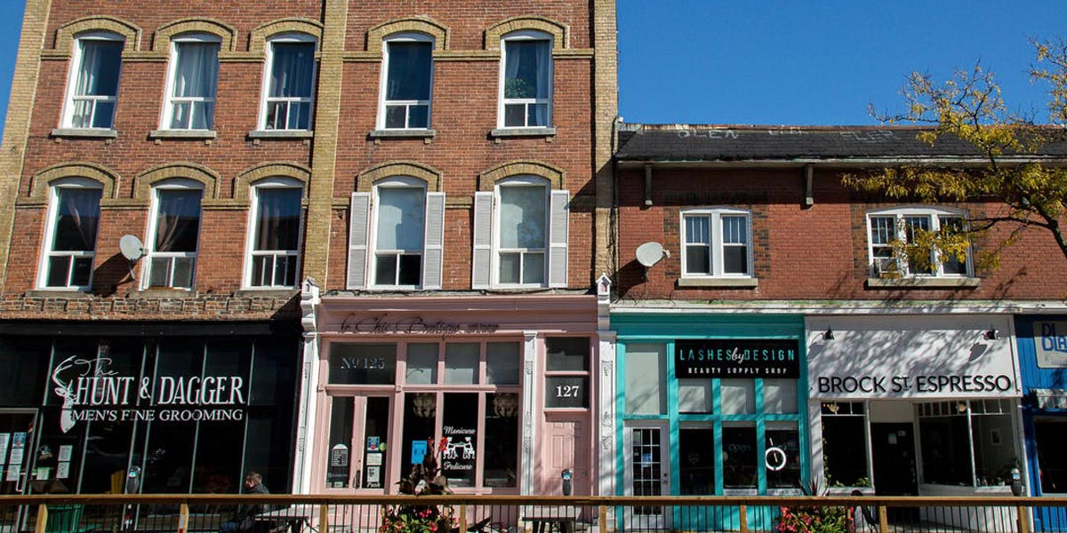 Downtown Whitby
