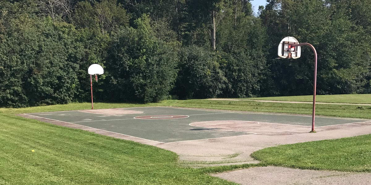 Country Lane basketball court