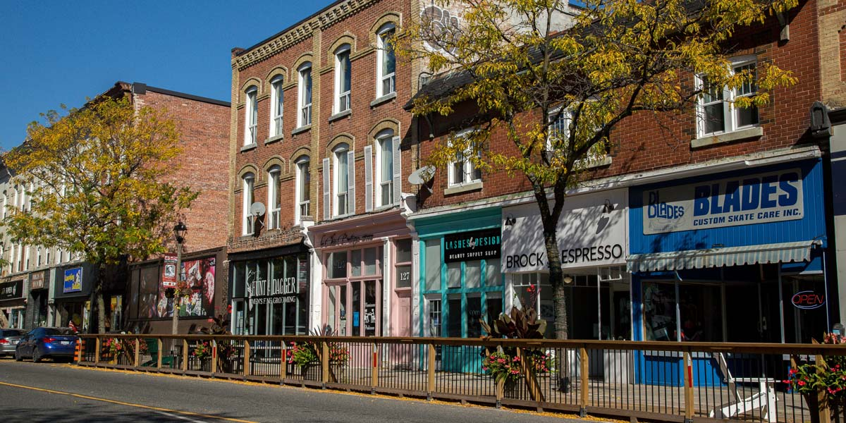 Downtown Whitby businesses
