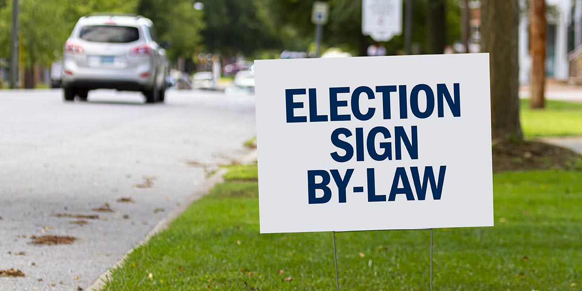 Election Sign By-law